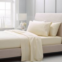 Sheridan 1000 Thread Count Natural Fitted Sheet Irish Linen (Natural)
