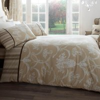 Gaveno Cavailia Richmond Natural Duvet Cover and Pillowcase Set Confetti (Natural)