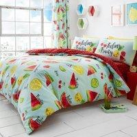 Gaveno Cavailia Tutti Fruiti Duvet Cover and Pillowcase Set Sky (Blue)
