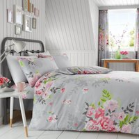 Gaveno Cavailia Alice Grey Duvet Cover and Pillowcase Set Grey