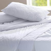 Dacron Coolmax Pillow White