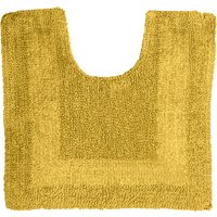 Super Soft Reversible Mustard Pedestal Mat Mustard (Yellow)