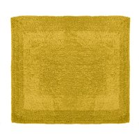 Super Soft Reversible Mustard Shower Mat Mustard (Yellow)