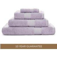 Dorma Silk Lilac Towel Lilac