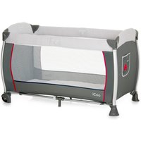 iCoo Starlight Grey Travel Cot Grey