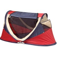 NSAuk Deluxe Red Travel Cot Red