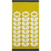Olive and Orange Tall Flower Sunflower Towel Sunflower (Yellow)