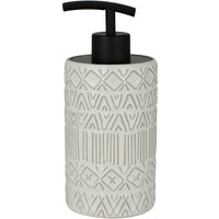 Elements Tribe Lotion Dispenser Black & White