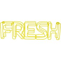 Fresh Wire Word Yellow
