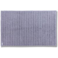 Bianca Cotton Grey Ribbed Bath Mat Grey