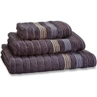 Catherine Lansfield Grey Garrat Towel Grey