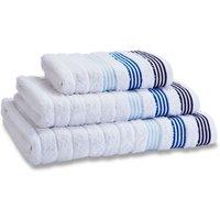 Catherine Lansfield White Garrat Towel White