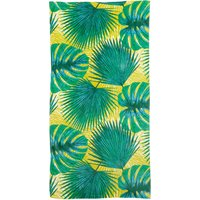Voyager Leaves Beach Towel Green
