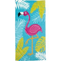 Flamingo Beach Towel Multi Coloured