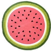 Round Watermelon Towel Multi Coloured