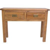 Essentials Carter Pine Console Table Natural