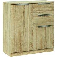 chelsea oak sideboard white