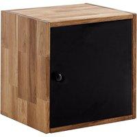 Maximo Oak Single Cube With Door Multi