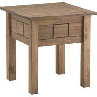 santiago pine lamp table natural