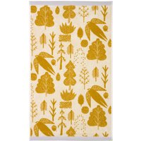 Donna Wilson Bird Tree Mustard Hand Towel Mustard