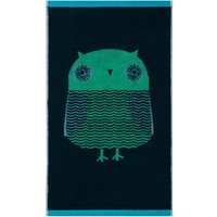 Donna Wilson Owl Green Hand Towel Green