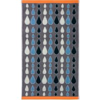 Donna Wilson Rain Drops Grey Hand Towel Grey