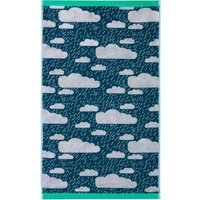 Donna Wilson Rainy Day Green Hand Towel Green