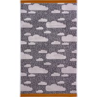 Donna Wilson Rainy Day Grey Hand Towel Grey