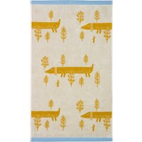 Donna Wilson Sausage Dogs Cream Hand Towel Cream