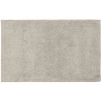 Cotton Tufted Grey Bath Mat Grey