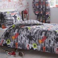Tricks Duvet Cover Set and Pillowcase Set Multi Coloured