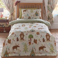 Yellowstone Duvet Cover Set and Pillowcase Set Multi Coloured