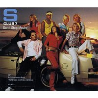 'S Club 7 Don't Stop Movin' 2001 Uk Cd Single 587083-2