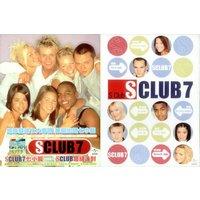 'S Club 7 S Club - Set Of Three Promo Handbills 1999 Taiwanese Handbill Handbills