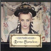 'Culture Club Karma Chameleon - Card P/s 1983 Uk 7