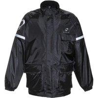 Black Spectre Waterproof Motorcycle Over Jacket