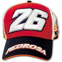 VR46 Dani Pedrosa Paddock Cap Red White and Blue