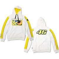 VR46 Valentino Rossi Sun and Moon Hoodie White