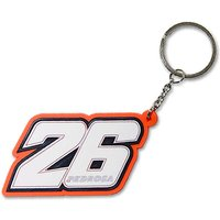 Dani Pedrosa Number 26 Key Chain