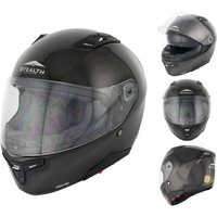 Stealth F117 Carbon Fibre Motorcycle Helmet (HD117)