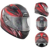 Stealth HD127 Razor Kids Motorcycle Helmet