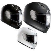 HJC FG-17 Plain Motorcycle Helmet