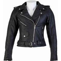 Spada Cruiser Ladies Leather Motorcycle Jacket