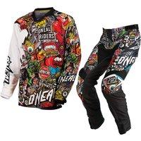 Oneal Mayhem 2015 Crank Black Multicoloured Motocross Kit