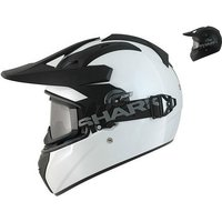 Shark Explore-R Blank Motorcycle Helmet
