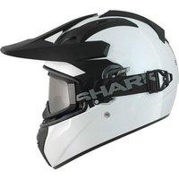 Shark Explore-R Blank Motorcycle Helmet
