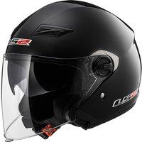 LS2 OF569 Track Solid Open Face Motorcycle Helmet