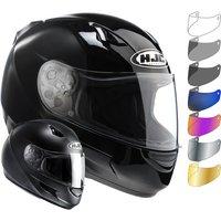 HJC CL-SP Plain Motorcycle Helmet & Visor