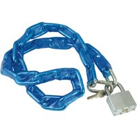 Bike It 1.2m Motorcycle Chain and Lock