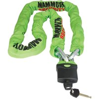 Bike It Mammoth 1.8m Square Chain and Lock
